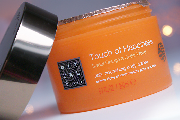 rituals touch of happiness body cream