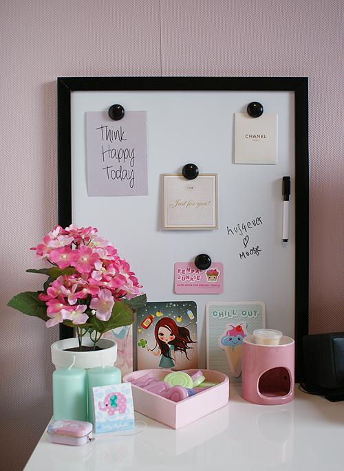 Behang Praxis Roze.Nieuwe Kamer Oh Fashion