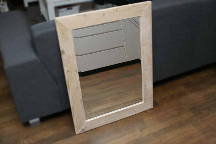 Spiegel Van Steigerhout : Mijn nieuwe steigerhouten spiegel oh fashion
