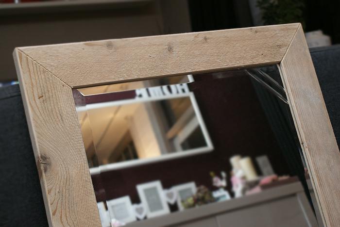 Spiegel Van Steigerhout : Spiegel van steigerhout spiegel steigerhout steigerhout