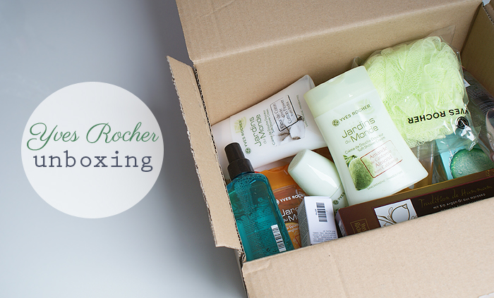 Unboxing Yves Rocher Bestelling Oh Fashion