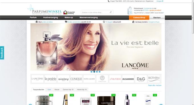 Perfect parfum op internet kopen is al jaren een succes for Meubels bestellen met acceptgiro