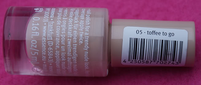 Review: Essence Nude Glam nail polish collectie   Oh Fashion